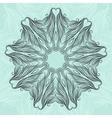 Round oriental ornament vector image vector image