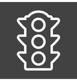 Traffic Signal vector image vector image
