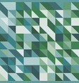 abstract background with green tone triangles vector image vector image