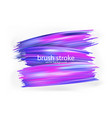 art abstract background brush paint texture design vector image