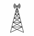 communication tower vector image
