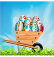 easter vector image