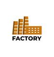 factory symbol vector image
