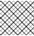 flower scotland tartan black white pixel vector image vector image