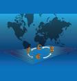 global currencies vector image