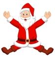Happy Santa cartoon vector image vector image