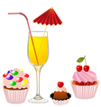 Party Food vector image vector image