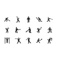 sports glyph icon vector image