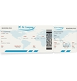 Variant of air ticket vector image vector image