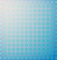 Abstract design blue circles vector image