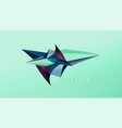Abstract background - geometric origami style