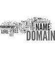 are free domain names worth the cost text word vector image vector image