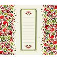 Decorative shapes Christmas postcard background vector image