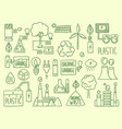 energy icon electricity nature battery recycle vector image