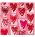 heartstexture vector image