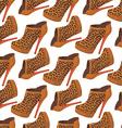 High-heel pattern vector image vector image