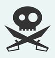Icon of Jolly Roger symbol Pirate filibuster