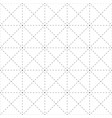 repeatable detailed grid mesh pattern black and vector image vector image