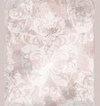 vintage baroque pattern background vector image vector image
