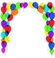 balloon frame vector image vector image