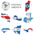 Central American Countries vector image