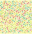 fun yellow background vector image vector image