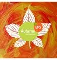 Magic Autumn Background vector image vector image