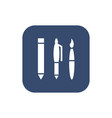 office supplies icon vector image