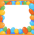 a birthday celebrant postcard vector image vector image
