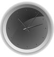 Analog clock Minimum design vector image