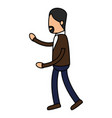 avatar of an actor acting pose vector image vector image