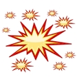 Burst Sign vector image vector image