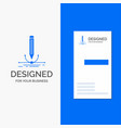 business logo for design pen graphic draw vector image vector image