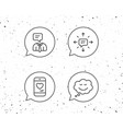 message comic speech bubble and communication vector image vector image