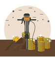 mining and tools vector image
