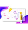 roi return on investment money refund profit vector image vector image