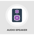 Speakers flat icon vector image