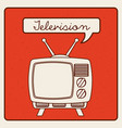 television icon vector image vector image
