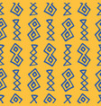 tribal boho native american seamless pattern vector image