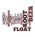best recipes root beer float milkshake text vector image vector image