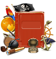 Pirate Book vector image vector image