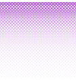 abstract halftone square pattern background vector image vector image