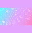 background easter symbols vector image