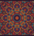 boho oriental indian kerchief vector image vector image