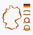 Colors of Germany vector image