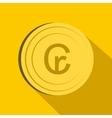Cruzeiro icon flat style vector image vector image