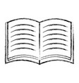 figure notebook school object education design vector image vector image