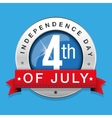 fourth july - independence day vector image vector image