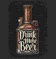 row of tank from brewery factory and lettering vector image vector image