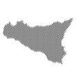 sicilia map population demographics vector image vector image